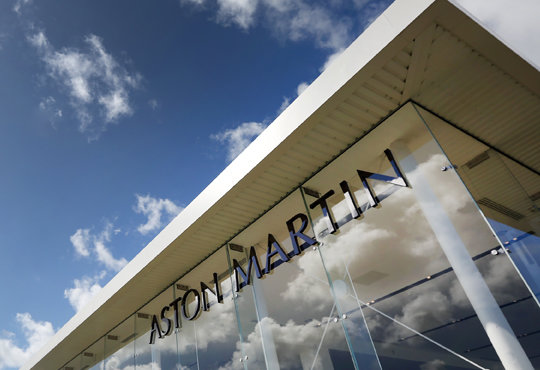 Architecture - website images for Aston Martin